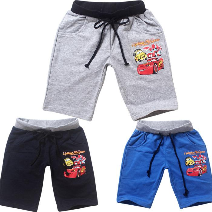 McQueen Cars Boys Capri Pants Cotton Baby Boy Boxers Summer ...
