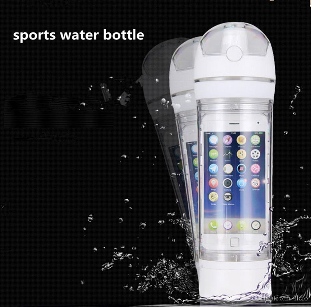 Sports Bottle Phone Case: Universal Ibottle Running Kettle Bicycle Hiking Sports