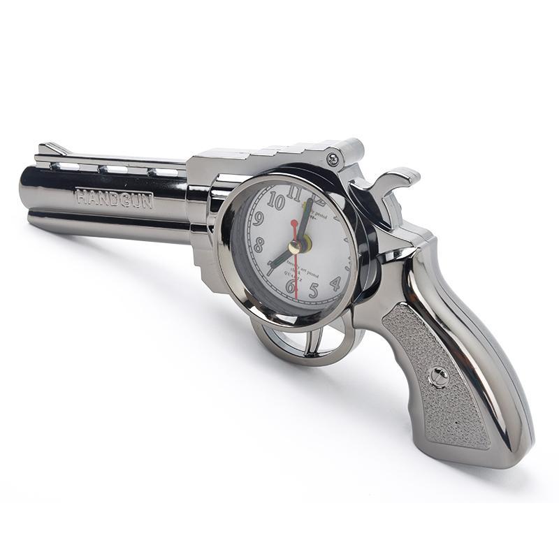 2017 Fashion Cool Vintage Gun Shape Creative Pistol Alarm