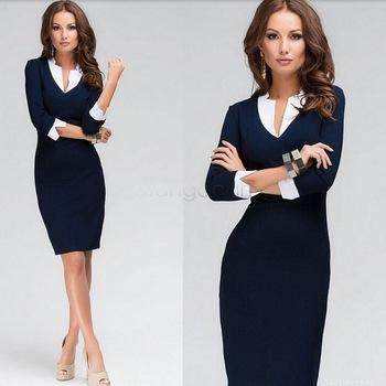 Big Discount ! 2015 Party Dresses Women Summer Ladies Fashion Knee ...