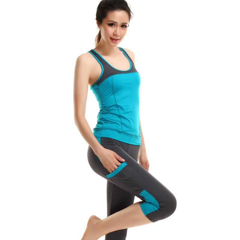 Yoga Wear Gym Workout Clothes Fitness Clothing For Women ...