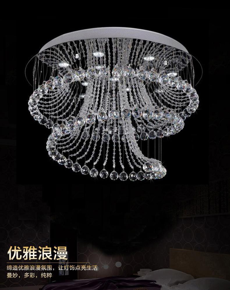 New Design Modern Living Room Crystal Chandelier Lights