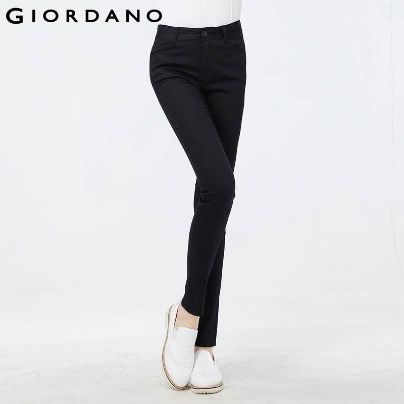 Giordano Women Casual Stretchy Pants for Women 2015 New Arrivals ...