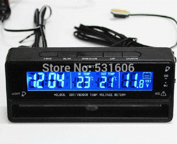 Car Battery Voltage Meter : Discount multi function car battery voltage meter monitor