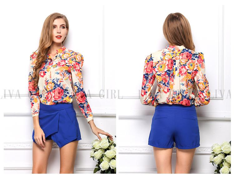 Online Wholesale Tops Tee Shirts Womens Shirt 02 Formal Flower ...