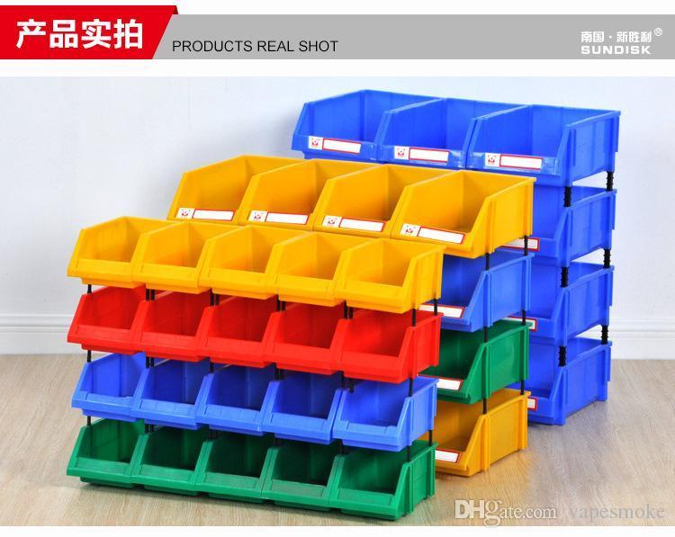 plastic part box classify storage box bin in ecommerce warehouse garage classify storage box warehouse box