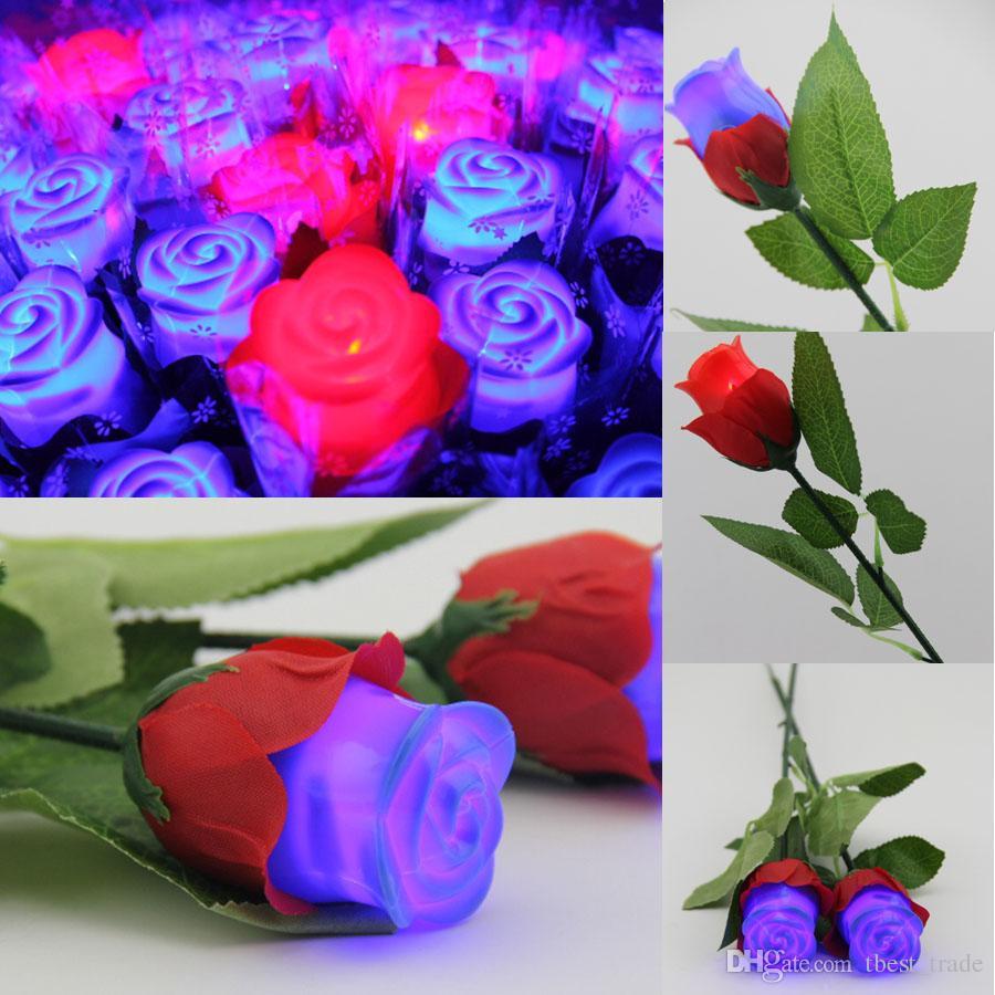 New Led Rose Led Romantic