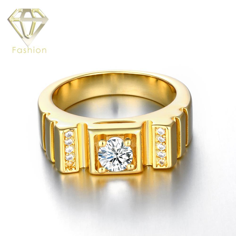 Gold diamond wedding ring for men 2017