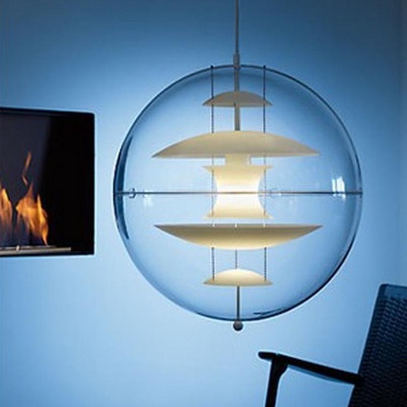 Italy modern verner panton vp globe pendant light for Dining room globe lighting