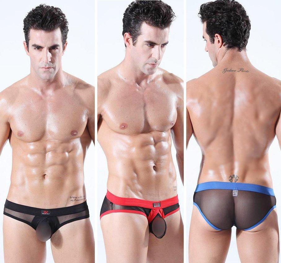 2017 Transparent Briefs For Men Underwear Tight Low Waist See ...