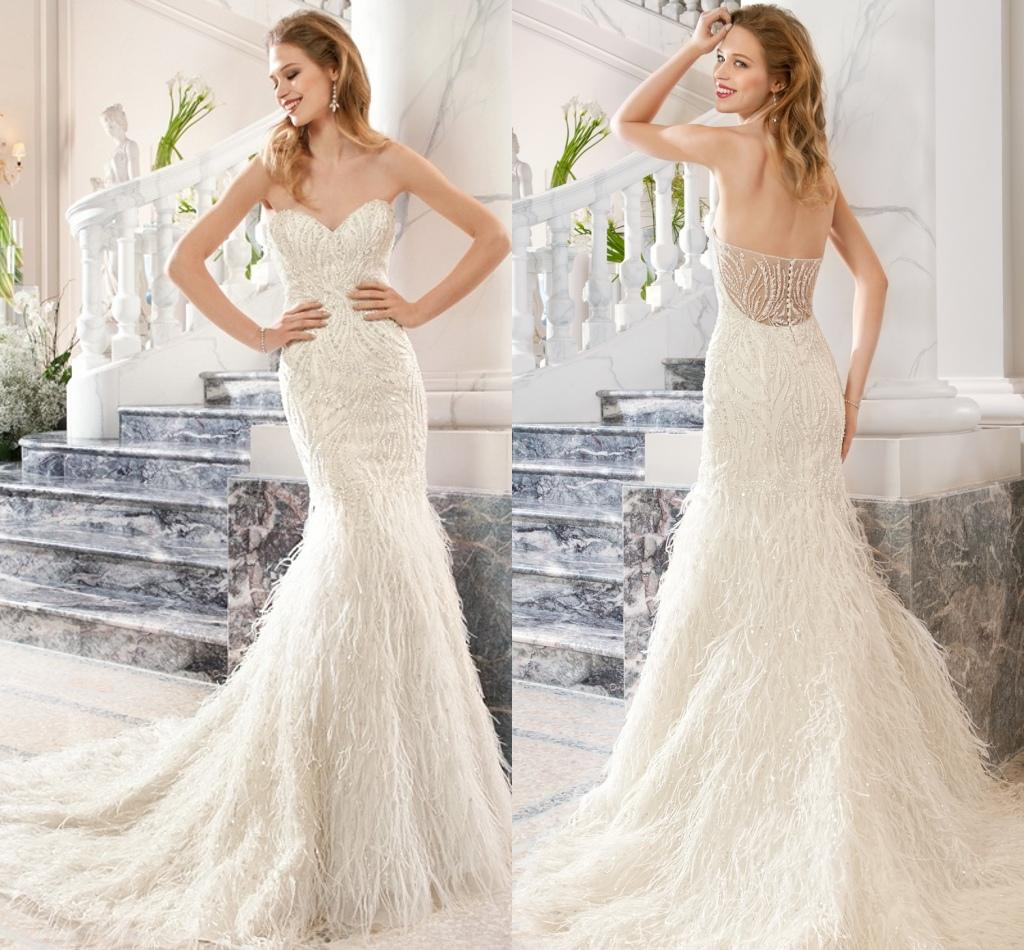 2015 Wedding Dresses Demetrios Mermaid Sweetheart Neckline