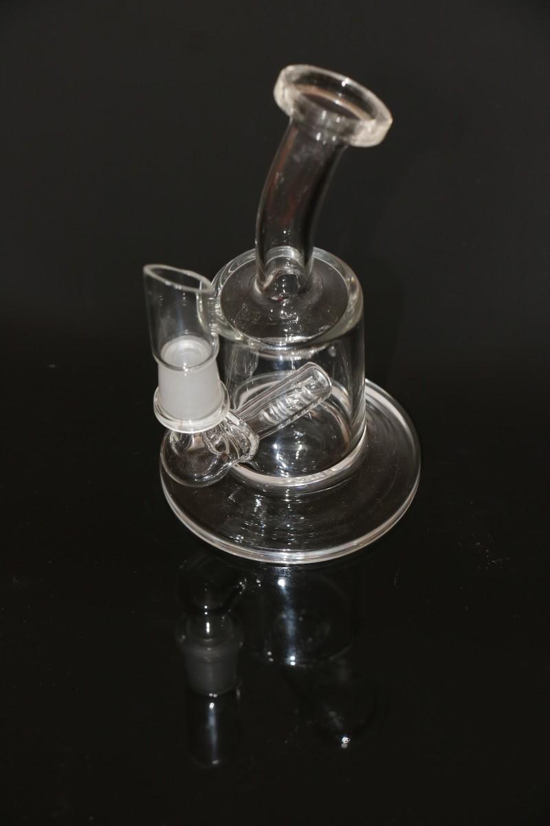 Wholesale Cheap Glass Water Pipes Perc Perculator Green
