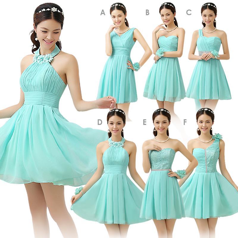 Платье короткое для подружки невесты