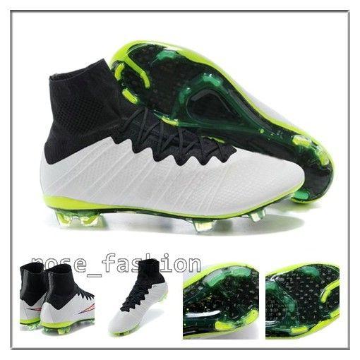 Wholesale Soccer Shoes Real Carton Fiber America Football Shoes FG ...