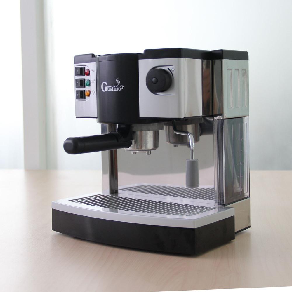 Electronic Steam Coffee Machine 2017 italian steam coffee machine household pot semi automatic 15