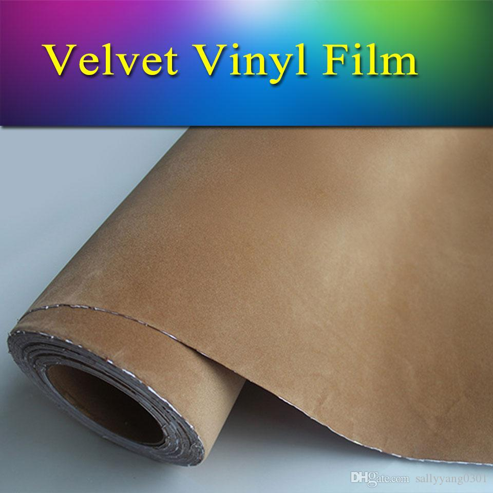 Car sticker wrap singapore - 1 52x15m5x50ft Car Wrap Vinyl Film Quality Velvet Vinyl Wrap Sticker Sheet Velvet Vinyl Velvet Vinyl Wrap Velvet Vinyl Wrap Online With 228 42 Meter On