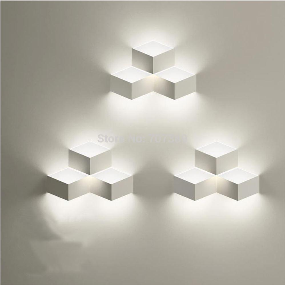redpath residence staircase lighting modern brief iron box cube application lamps staircase