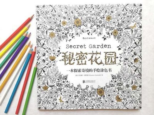 Secret Garden Books Handpainted Graffiti Coloring English Version By Johanna Basford Hot Sale Book