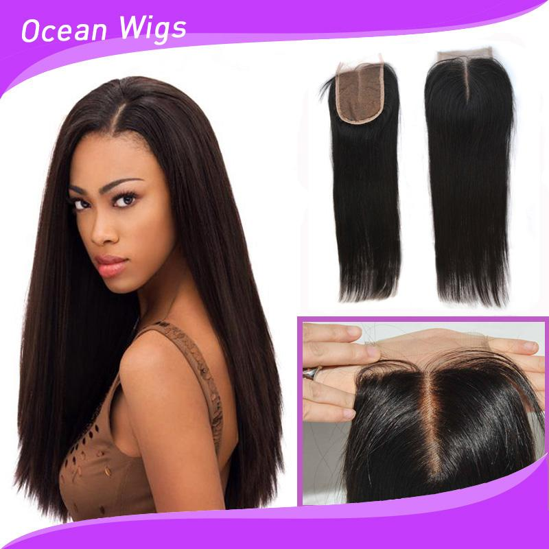 Cheap Virgin Indian Hair Closures 23