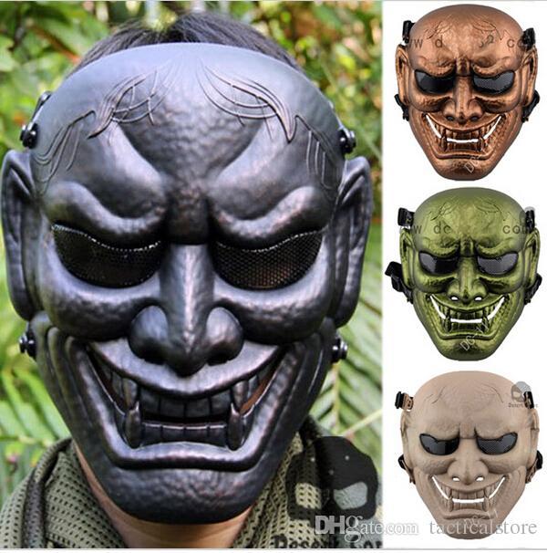 New Dc 11 Buddha Prajna Full Face Airsoft Paintball Mask ...