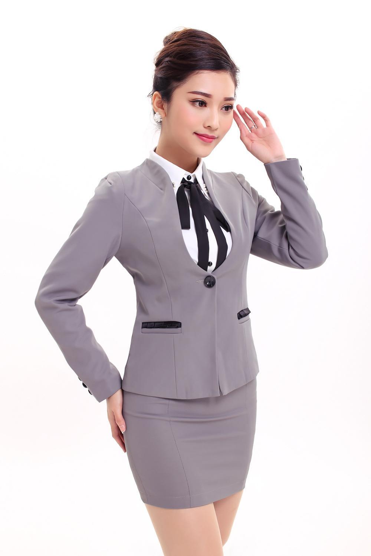 8801 # Cashier KTV Overalls Hotel Uniforms Beautician ...