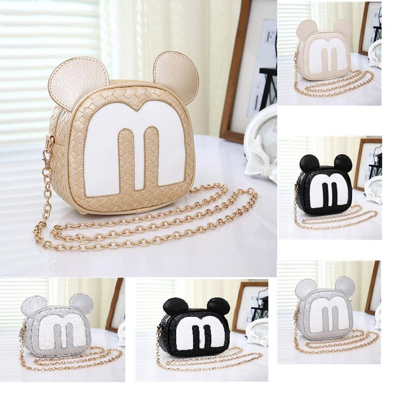Fashion Cute Chain Bag with the Cartoon Mickey Casual Crossbody ...