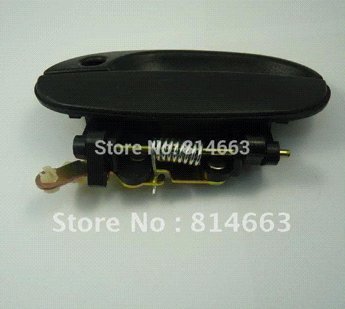 New Outside Door Handle Front Left Black For Hyundai
