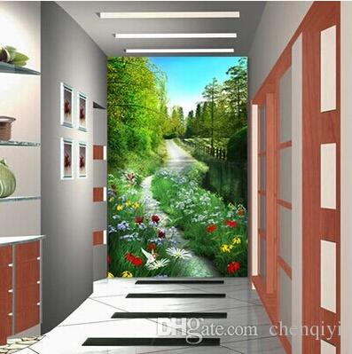 new can custom-made large 3d mural art wallpaper home decor
