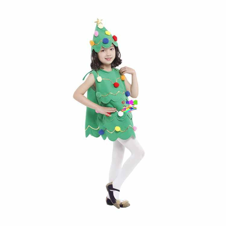 LChristmas Tree Costume For Little Girl Cute Christmas Costume For ...