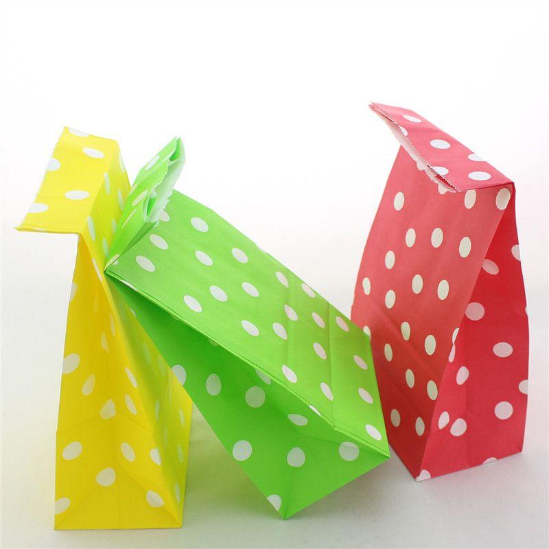 New christmas kraft paper gift bag festival bags