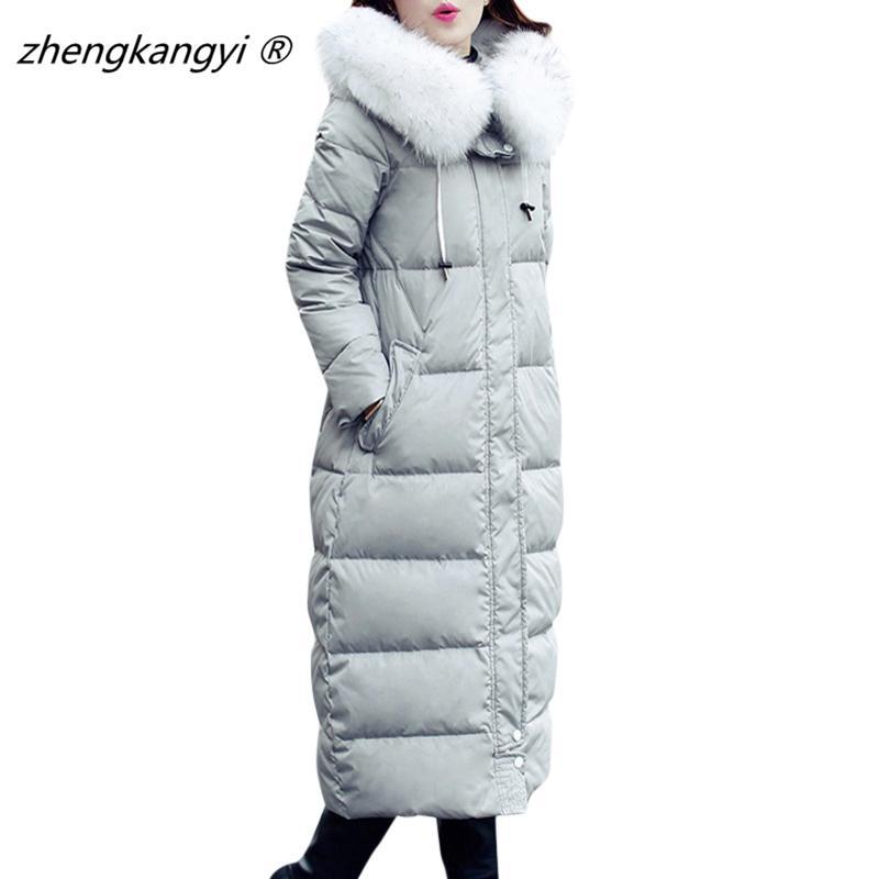 manteau femme 2016 new trend slim winter jacket x long full sleeve women solid color - Manteau Femme Color