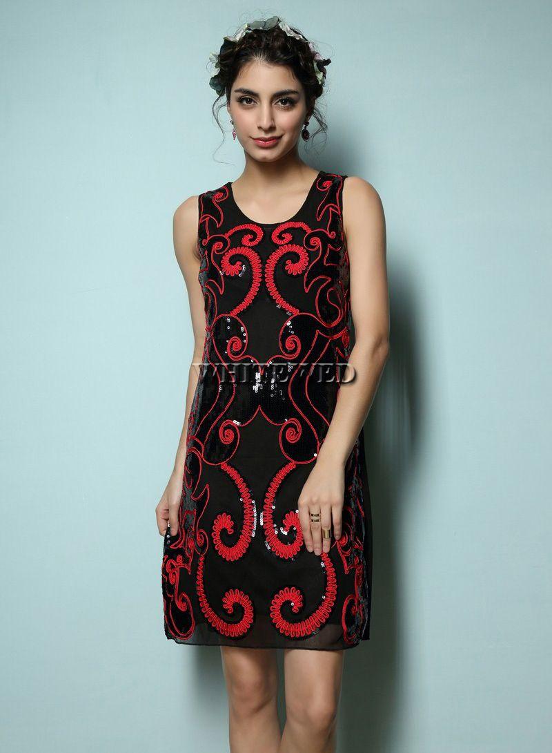 Fashion art deco era inspired embellished fancy great for Art deco era clothing