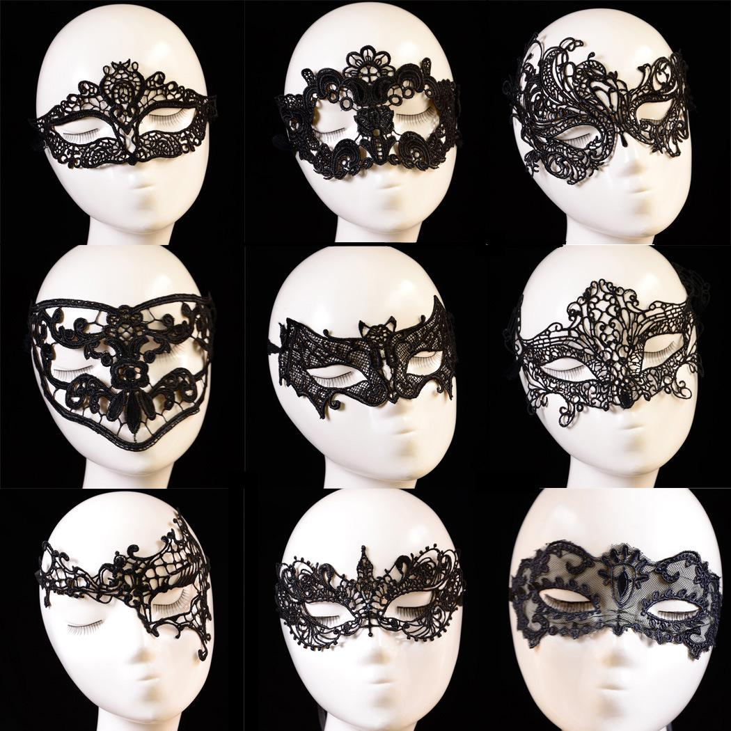 Hot Sale Potograph Lace Mask Black Fashion Sexy Eye for Women Lady ...