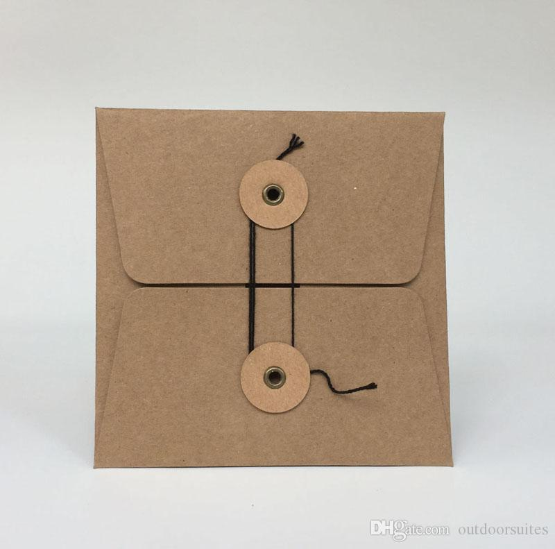 Durable Kraft Paper CD DVD Sleeves Case Envelopes Packing ...