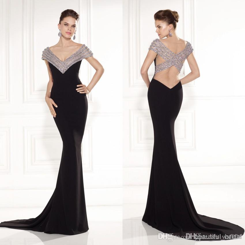 New Arrival 2015 Fancy Formal Dress Lady Evening Dresses Sweep ...