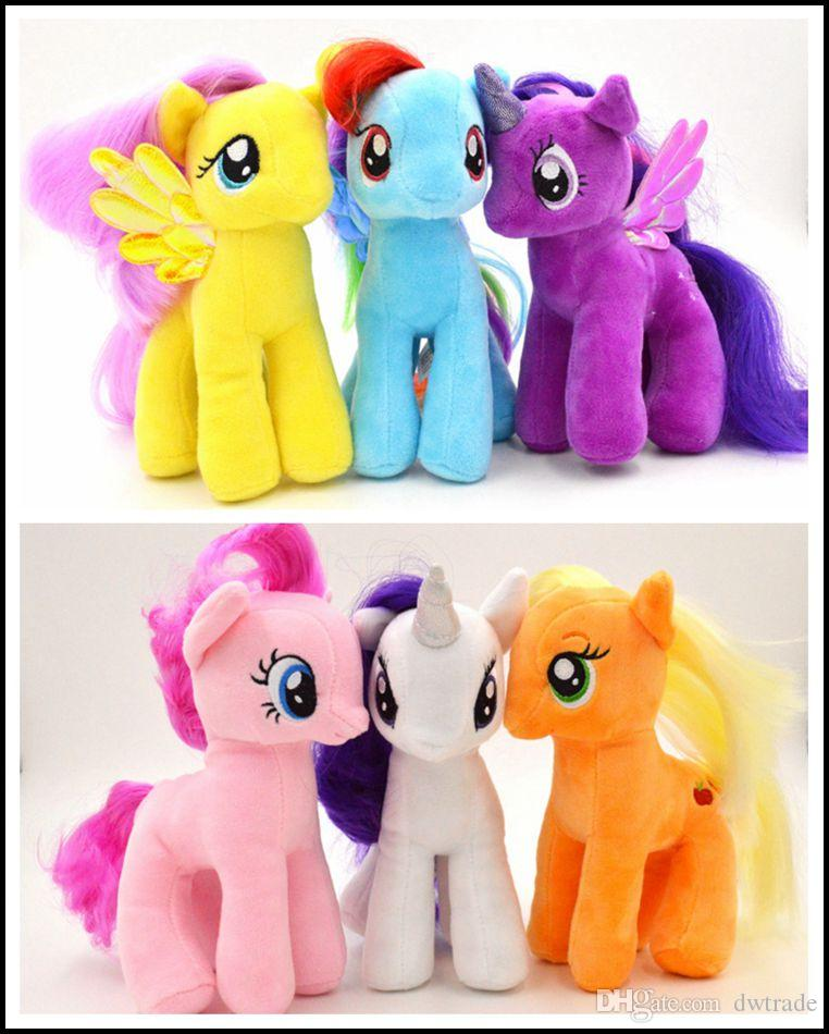 Best My Little Pony Toys And Dolls For Kids : Kids my little pony plush dolls boys girls inch