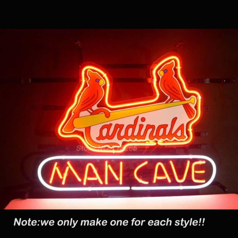 Best Man Cave Signs : Best st louis cardinals man cave neon sign recreation room