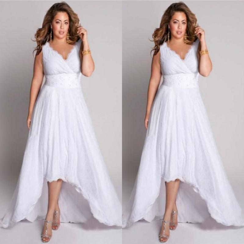 High Low Plus Size Wedding Dresses - Amazing Bedroom, Living ...