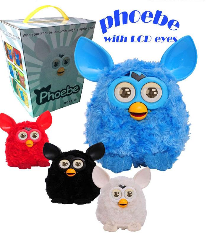 Newest Furby Boom Plush Toy Electronic LCD Eyes Phoebe ...