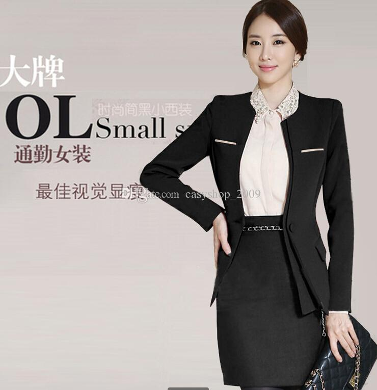 Spring Career Women's Clothing Suits the Interview is a Suit of ...
