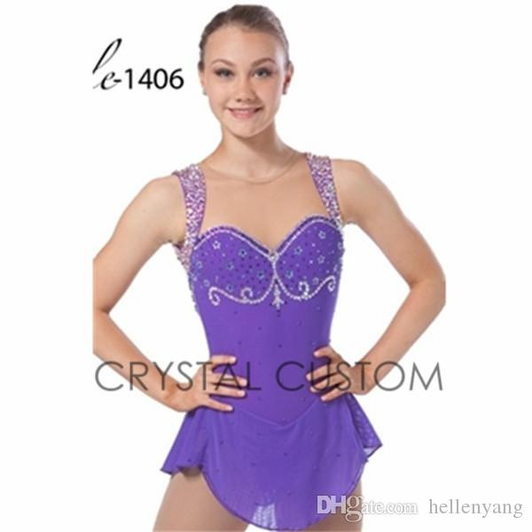2015 Competition Figure Ice Skating Dresses For Women With Spandex ...