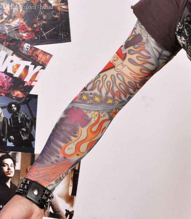 wholesale oldschool tattoo sleeve tatoo punk pin up big. Black Bedroom Furniture Sets. Home Design Ideas