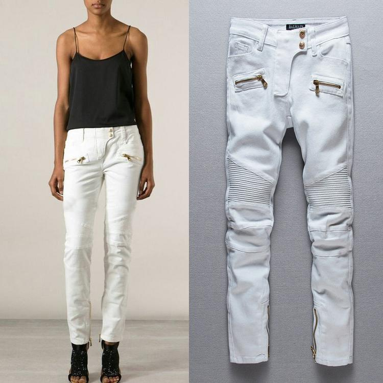 Pierre Balmain founded his fashion house in Paris in and popularized nipped waists, lavish embellishments, and an ultra-feminine aesthetic. Cargo Skinny Biker Jeans. $1, Balmain Wool Skinny Tuxedo Trousers. $1, Balmain Logo Cotton Moto Sweatshirt WELCOME TO THE BARNEYS NEW YORK PRIVATE JEWELRY SALE.