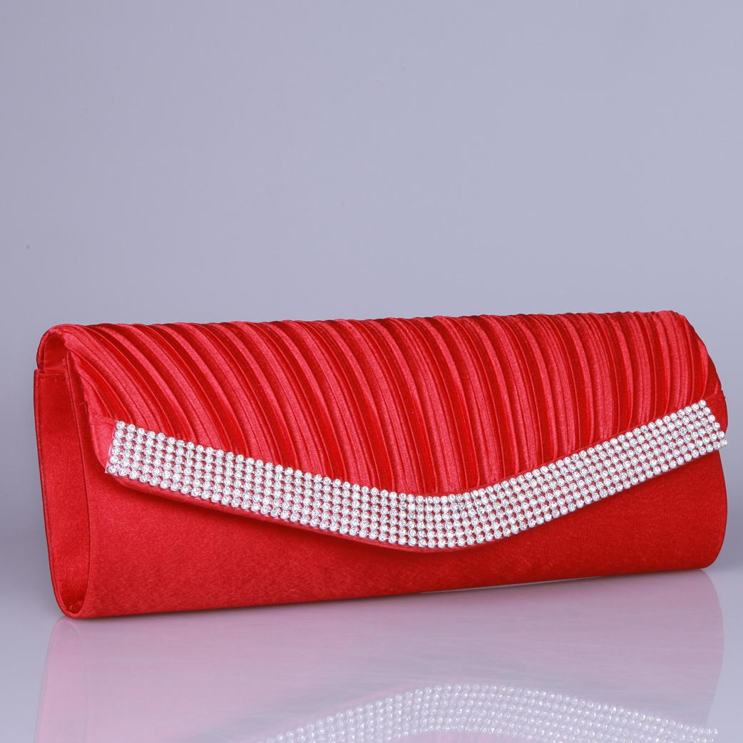 2015 Red White Bridal Handbags Unique Wedding Fashion Bridal Hand Bags Evening Party Bag Clutch ...