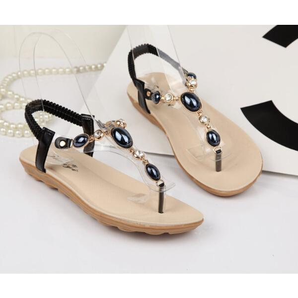 Flat Sandal Shoes For Ladies