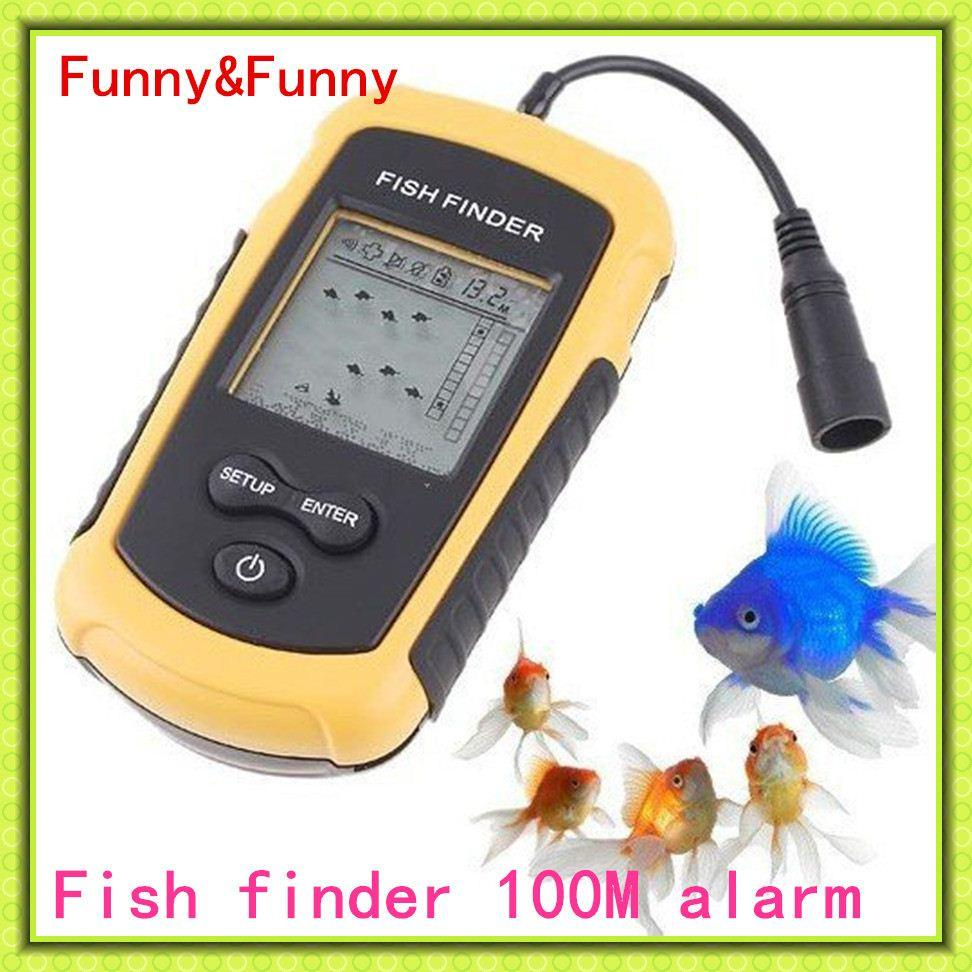 fish finder alarm sonar sensor transducer fishfinder 100m ap ice, Fish Finder