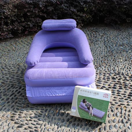 Best Multi Function Inflatable Pull Out Chair Dorm Sofa Bed Foldable Sleeper Mattress Air Couch