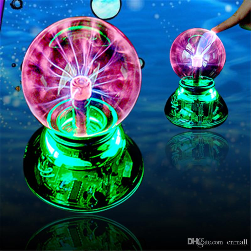 sphere electronic magic ball light lamp usb cable audio control