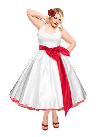 2016 Plus Size Wedding Dresses Color Tea Length Vestido Cheap ...
