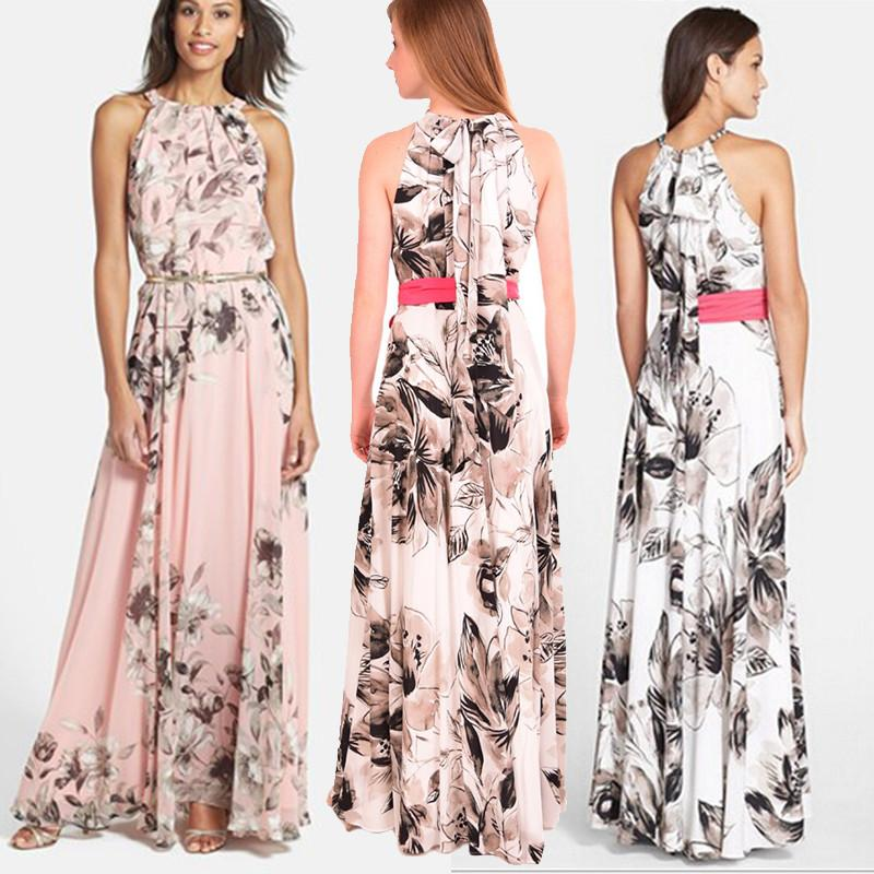 Where to Buy Floral Halter Maxi Dress Online? Where Can I Buy ...